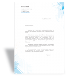 lettre de motivation word modèles de lettres de motivation Word   CV Word lettre de motivation word
