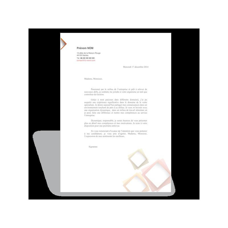 exemple mod u00e8le lettre de motivation gestionnaire de