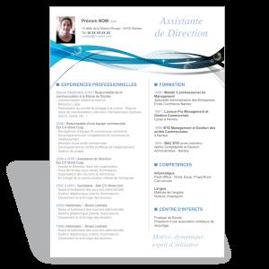 Exemple et modèle gratuit de CV Secrétaire  Exemples et modèles de