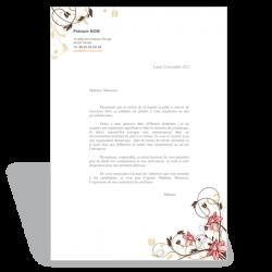 Modèle lettre de motivation Esthéticienne V