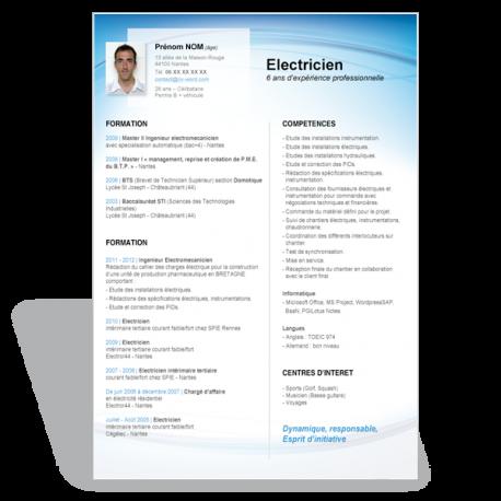 resume format on microsoft word