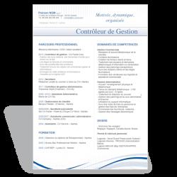 Modèle CV Word Controleur de Gestion